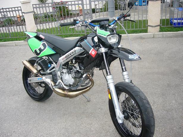 Meine Derbi Senda 50 SM Black Edition
