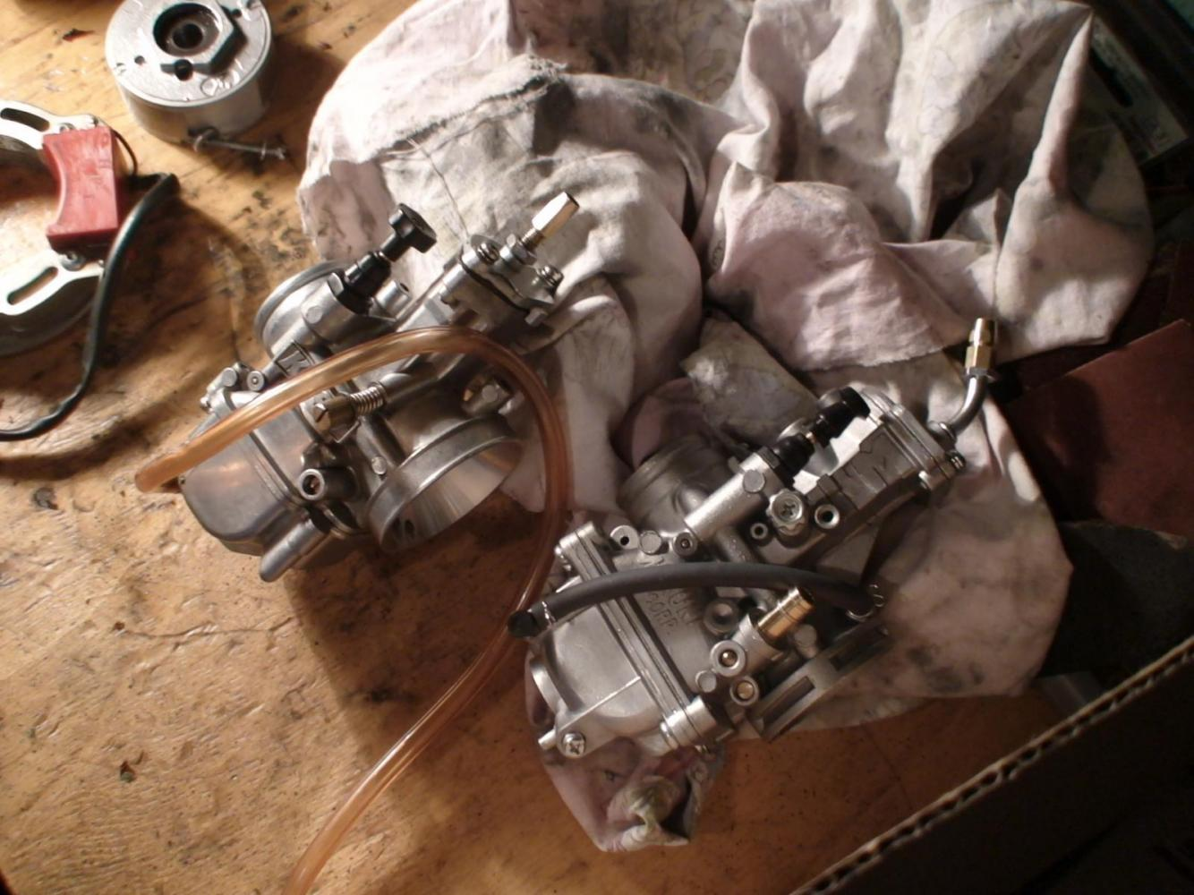 28KOSO Racing version vs. TMX 30 MIKUNI
