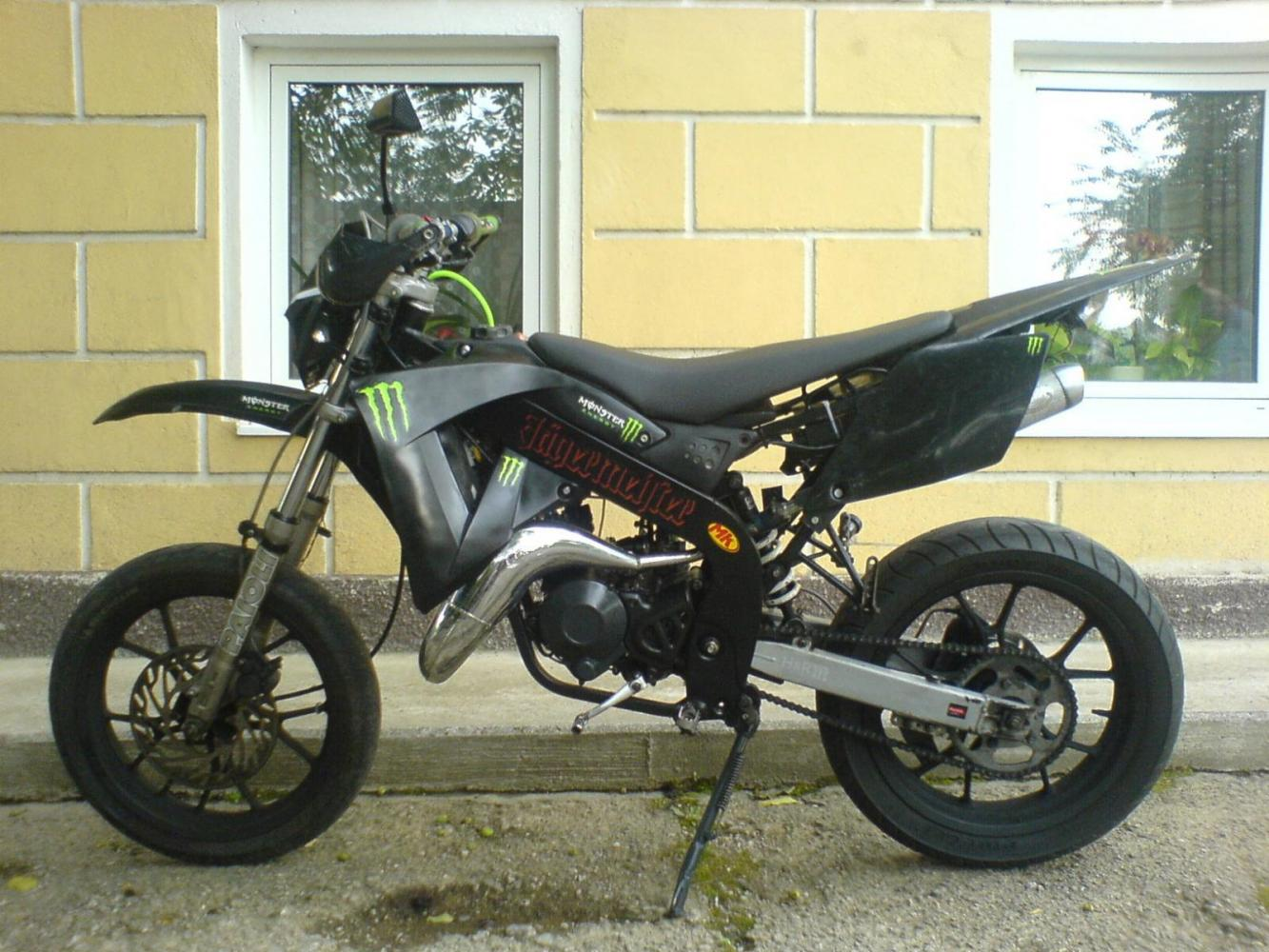 Rieju Spike X 85 Monster style fast fertig