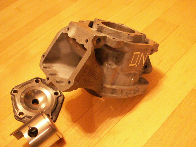 Rotax RS 125 Ported Zylinder by D.N.