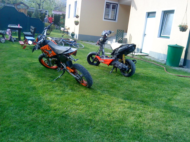Meine 2 Mopeds XD