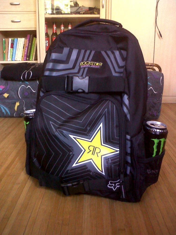 mein neuer rucksack =)
