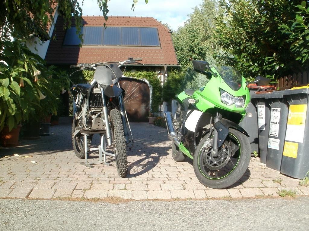 My Derbi  & Kawasaki