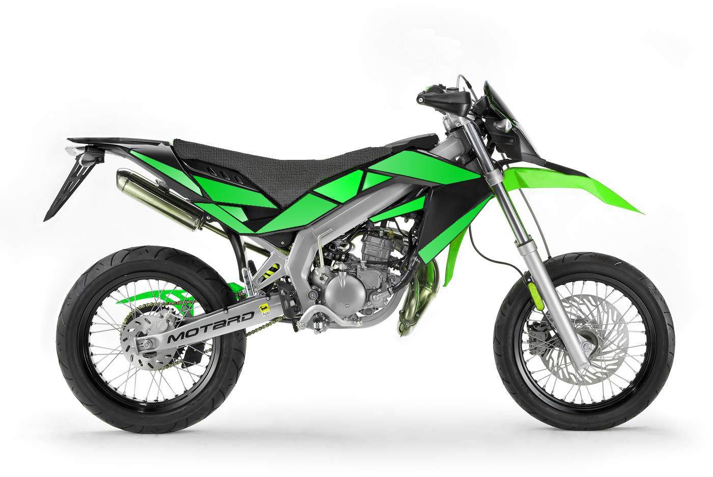 Aprillia SX 50 - 2010 - Green