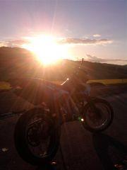 Sonnenuntergang mit meiner Daisy xDD