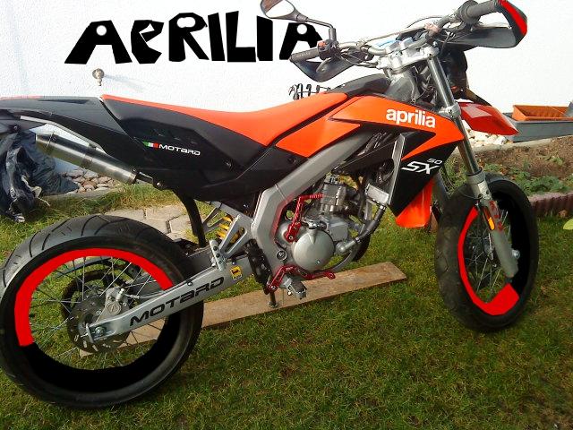Aprilia Sx 50 bearbeitet