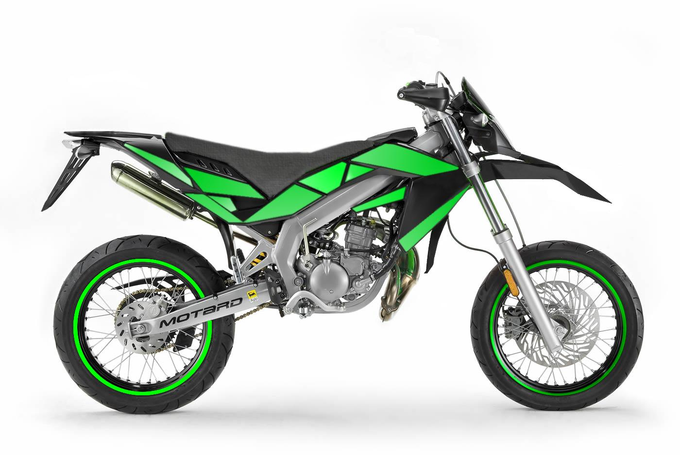 Aprilia SX 50 goes Green