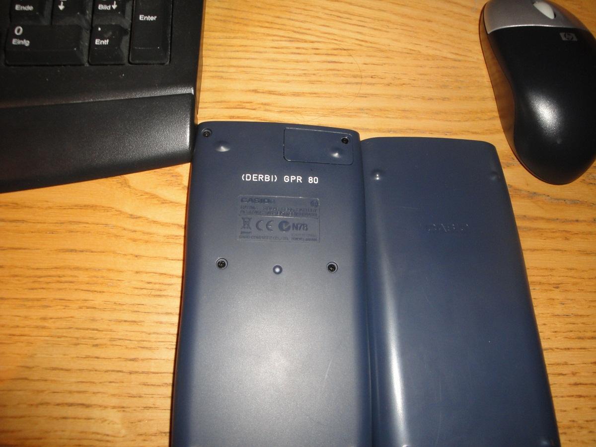 Mein Taschenrechner ^^