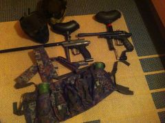 Verkaufe Paintball Set