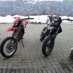 Aprilia sx 50 and Derbi Senda Xtreme