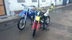 Puch Maxi S & Yamaha YZ 50