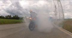 Burnout ma mit bisl Rauch ^^