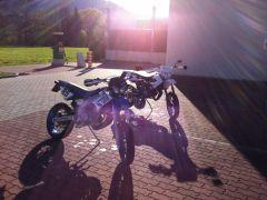 Moped waschen :)