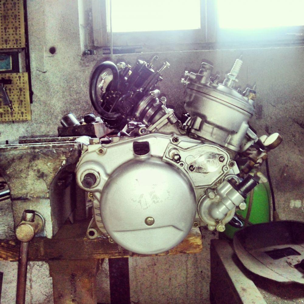 Feldmoped Motor