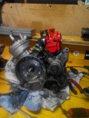87 TPR Motor gestern gemacht :)