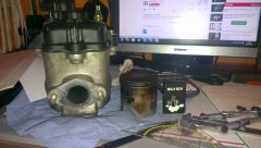 Piaggio Hexagon 180cc Zylinder