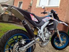 Aprilia SX50 Stickerbomb