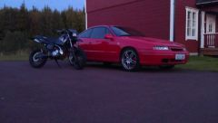 Yamaha and Calibra