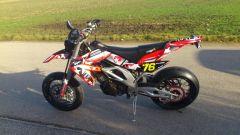 Motorrad von meinem Cousin