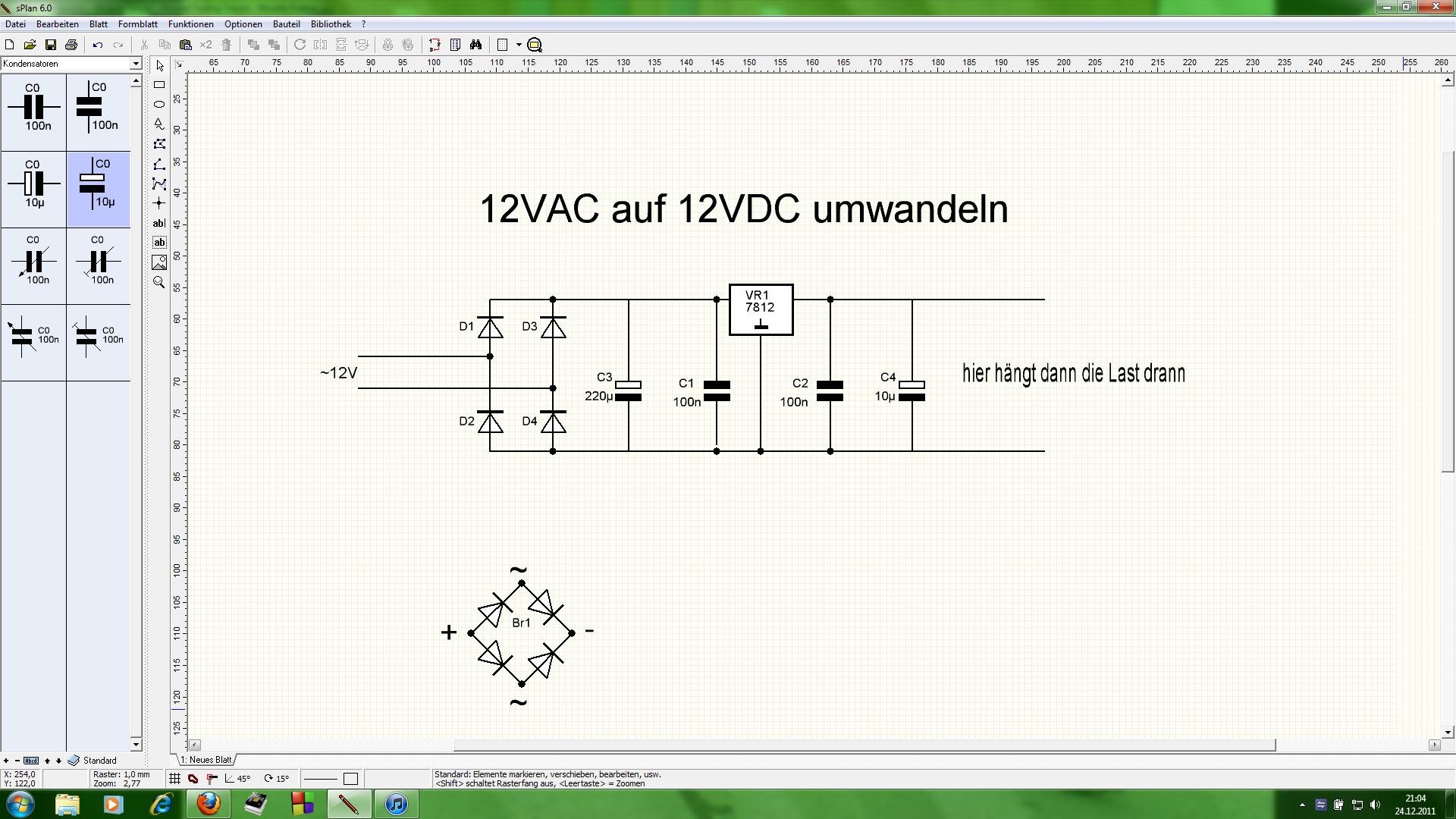 12VAC auf 12VDC umwandeln - Elektronikbereich - 2Stroke-Tuning
