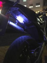 Unterboden Neon Blau
