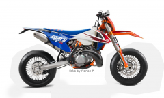 EXC 300 TPI SixDays 2018 Supermoto